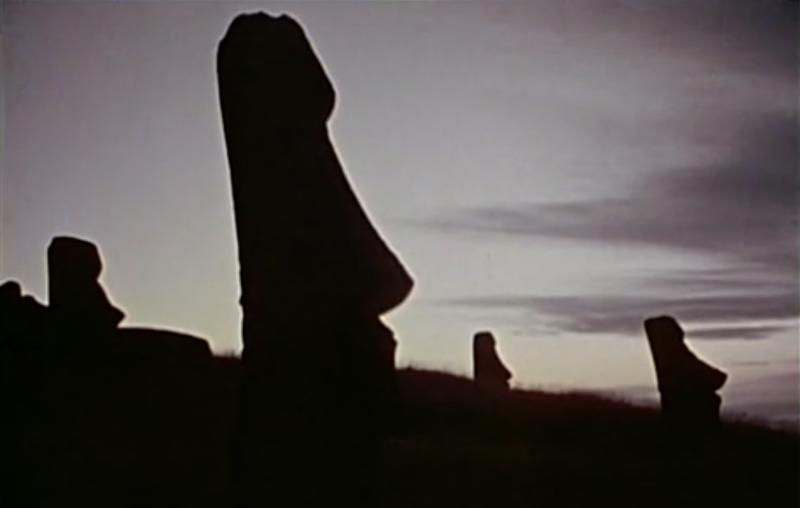 Moai statues, Easter Island (Photo: Cousteau)